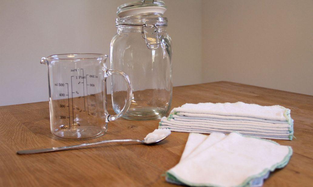 Wiederverwendbare Feuchttücher selber machen