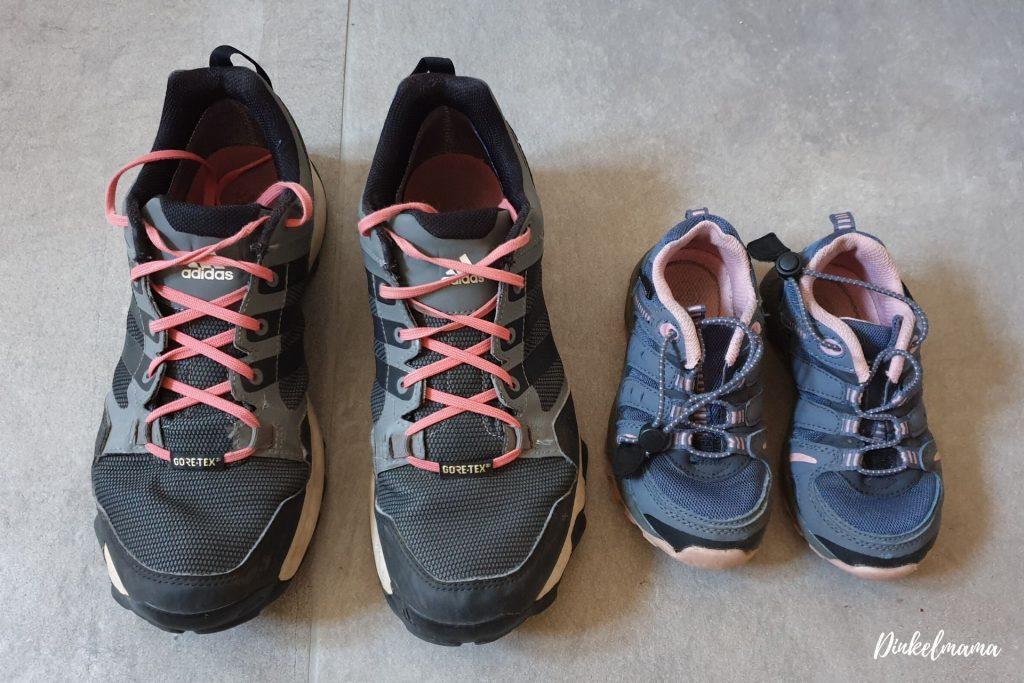 Schuhe - nachhaltiger Familienalltag