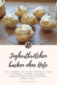 Joghurtbrötchen ohne Hefe backen