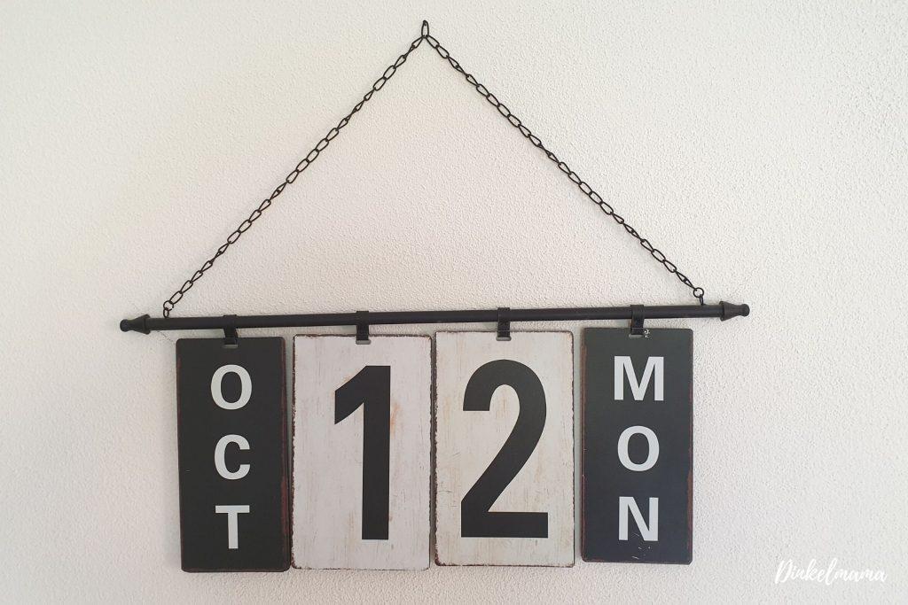 Kalender 12 von 12